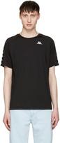 Gosha Rubchinskiy Black Kappa Edition Logo Sleeve T-shirt