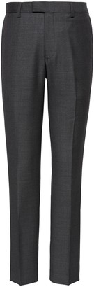 Banana Republic Slim Italian Wool Nailhead Suit Pant