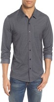 Travis Mathew Men's Trip'slim Fit Wrinkle Free Sport Shirt