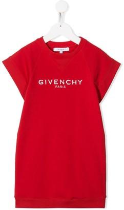 Givenchy Kids Knitted Logo Jumper Dress