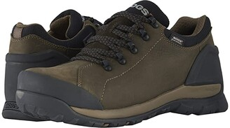 Bogs Foundation Leather Low WP Soft Toe (Brown) Men's Rain Boots