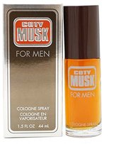 Coty Musk Cologne Spray for Men, 1.5-Ounce