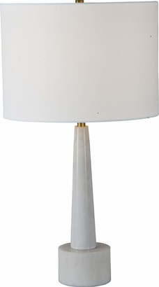 Ren Wil Ren-Wil Lautner Table Lamp Small White Marble