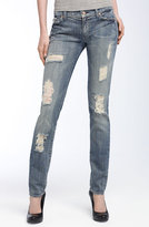 7 For All Mankind® 'Roxanne' Skinny Stretch Jeans (Super Vintage Nakita Wash)