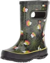 Bogs Unisex-Kids Skipper Smiley Spiders Rain Boot