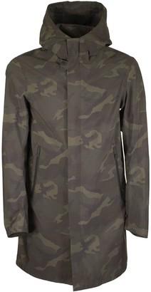 Herno Medium-long Camouflage Jacket With Hood