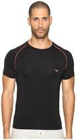 Emporio Armani Fluo Piping Microfiber T-Shirt Men's T Shirt