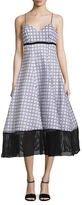 Tracy Reese Cotton Sweetheart Flare Dress