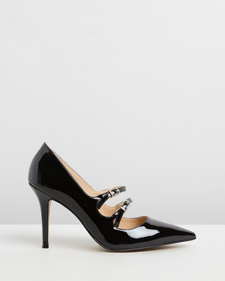 Nina Armando - Women's Black Stilettos - Millie - Size One Size, 39 at The Iconic