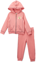 Juicy Couture Light Pink Hoodie & Sweatpants - Infant Toddler & Girls