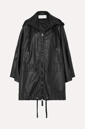 NO KA 'OI No Ka'oi NO KA'OI - Haho Oversized Hooded Shell Jacket - Black