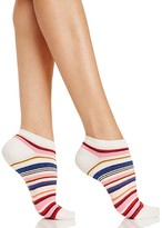 Kate Spade Berber Stripe No-Show Socks