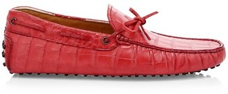 Tod's Lacetto Gommino Leather Drivers