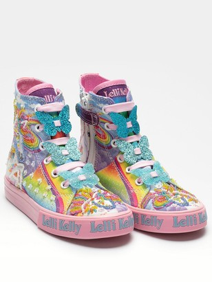 Lelli Kelly Kids Girls Unicorn Hi Top Trainer - Multi