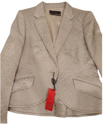 Carolina Herrera Green Silk Jacket for Women