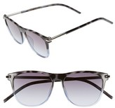 Marc Jacobs Women's 54Mm Retro Sunglasses - Havana/ Gray Azure
