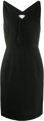 Moschino Keyhole Dress