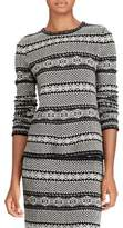 Lauren Ralph Lauren Petite Fair Isle Wool and Cashmere Sweater