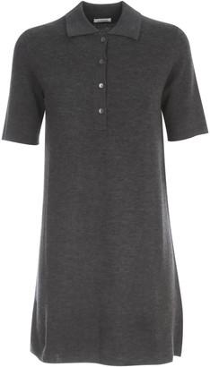 P.A.R.O.S.H. Wool Short Dress S/s