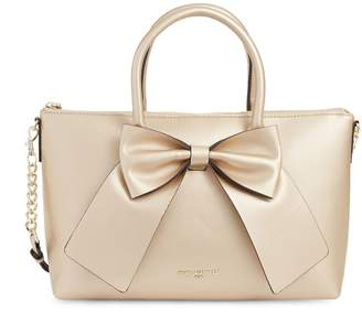 Karl Lagerfeld Paris Logo Bow Satchel