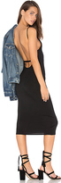 Rachel Pally Bare Back Midi Dress in Black. - size L (also in M,S,XS)