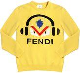 Fendi Monster Virgin Wool Sweater