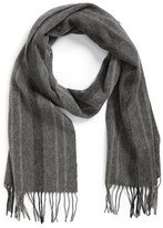 Nordstrom Men's Stripe Wool Scarf