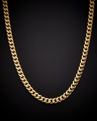 Italian Gold 14K Cuban Link 30In Necklace