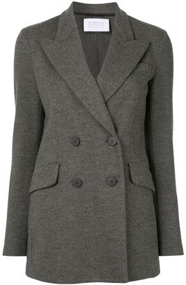 Harris Wharf London Double Breasted Tailored Blazer