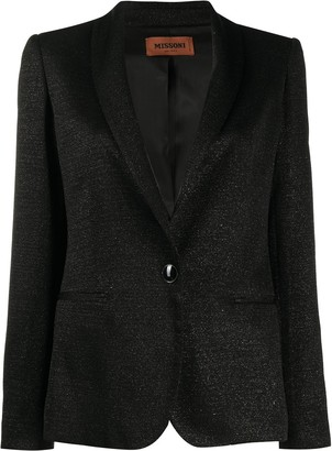 Missoni One-Button Blazer