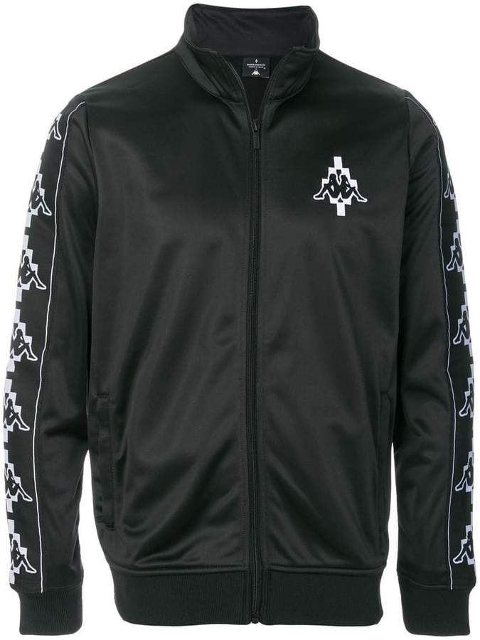 Marcelo Burlon County of Milan Kids X Kappa zipped jacket