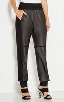 Herve Leger Broderick Leather Pants