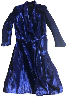Cavallini Erika Purple Velvet Coat for Women