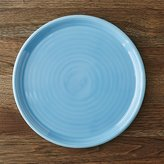Crate & Barrel Farmhouse Aqua Dinner Plate