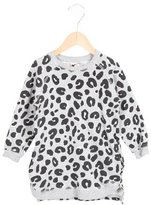 Stella McCartney Girls' Leopard Print Long Sleeve Dress w/ Tags