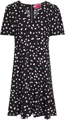 Kate Spade Printed Crepe Mini Dress