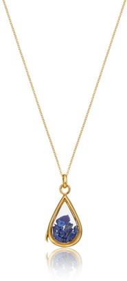 Lily & Roo Gold & Glass Lapis Birthstone Locket