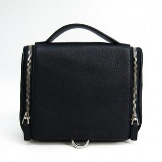 Bally Navy Leather Handbags