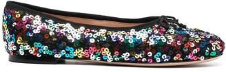 Kate Spade Honey sequinned ballerina shoes
