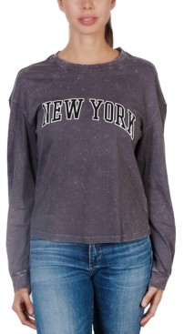 Rebellious One Juniors' New York Long-Sleeve T-Shirt