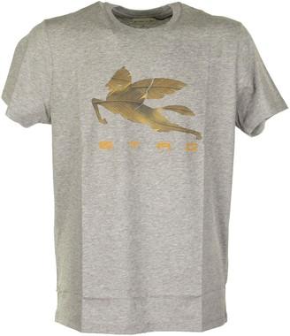 Etro T-shirt With Pegaso Print
