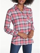 Rails Milo Flannel Plaid Shirt, Bonfire Ash