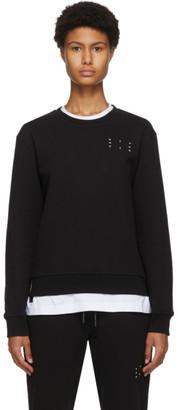 McQ Black Jack Branded Sweatshirt