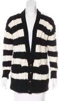 Current/Elliott Stripe Knit Cardigan