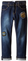 Little Marc Jacobs Resort - Denim Trousers with Funny Patches Boy's Jeans