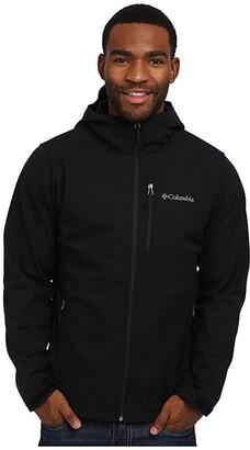 Columbia Ascendertm Hooded Softshell Jacket (Black) Men's Coat