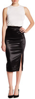 ATM Anthony Thomas Melillo Sparkle Zipper Pencil Skirt