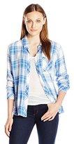 Rails Women's Hunter Plaid Button-Front Shirt with Pocket