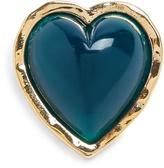 Sonia Rykiel Heart-embellished brooch