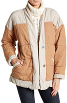 Free People Quilted Popplin Jacket
